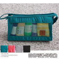 旅行收納化妝隨身包-四色可選
