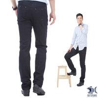 【NST Jeans】380(5533) 低調公爵查理 英式復古單寧長褲(中低腰窄版)-行動