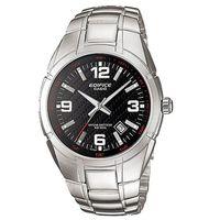 【CASIO】EDIFICE 經典城市悍將魅力運動錶-黑 (EF-125D-1A)