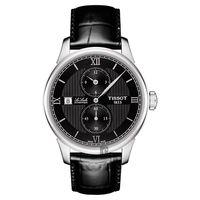 TISSOT 天梭 LE LOCLE 力洛克雅仕機械腕錶-黑/40mm T0064281605802