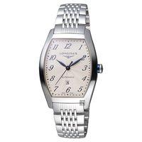 Longines 浪琴 Evidenza 典藏機械腕錶-銀/31mm L23424736