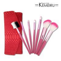 【KEMEIRU】美妝刷BRUSH 專業優質彩妝7件式刷具