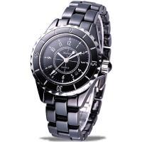 Hanna法式情人全陶瓷石英腕錶