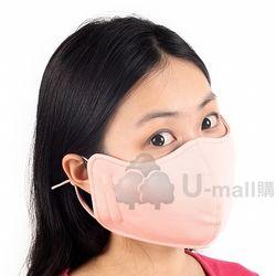 (STAH008-PIN-X2) 抗UV透氣口罩2件(粉紅)