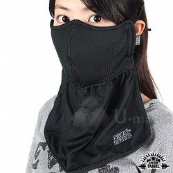 (STAH012-BLK)抗UV遮陽護頸透氣口罩(黑色)