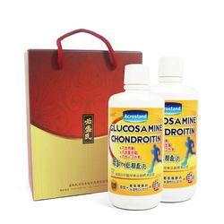 草本之家-真固立葡萄糖胺液1000mlX2瓶(禮盒裝)