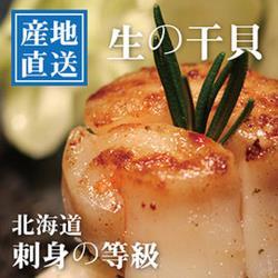 陸霸王 日本進口刺身等級S大干貝(500g/包)