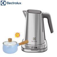 期間下殺↘送牛奶鍋【Electrolux伊萊克斯】設計家不鏽鋼溫控電茶壼  EEK7804S