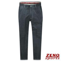 ZENO傑諾 彈力修身無摺休閒長褲‧黑藍30-42