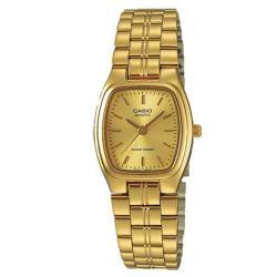【CASIO】清新時尚經典指針腕錶-羅馬金面 (LTP-1169N-9A)