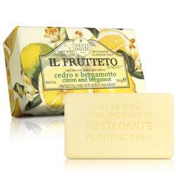 任-Nesti Dante  義大利手工皂-天然鮮果系列-檸檬和佛手柑(活力)(250g)