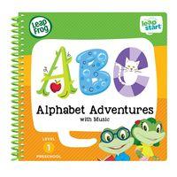 LeapFrog LeapStart Jr.全英幼兒行動學習書 幼兒2-字母ABC