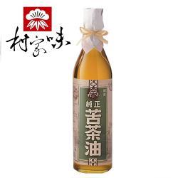 村家味 純正苦茶油 4瓶(600ml/瓶)