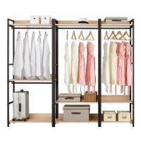 Boden-裴拉7.3尺開放式組合衣櫃(雙吊+單桿+2尺單桿)