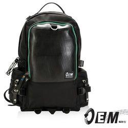 OEM  新製包工藝革命 綠色潮流 大容量後背包  -綠