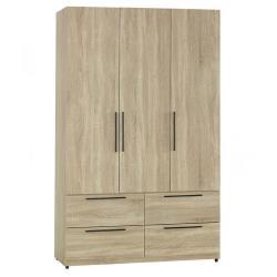 【AT HOME】凱文4×7尺梧桐四抽衣櫃