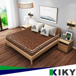KIKY 月牙灣蓆面記憶舒層彈簧床墊-雙人5尺