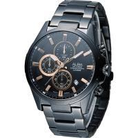 ALBA 雅柏 活力運動型男三眼計時腕錶 VD57-X081SD  AM3341X1