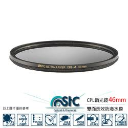 STC CIR-PL FILTER 環形 偏光鏡(CPL 46mm)