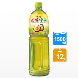 古道 百香綠茶1500ml x12瓶
