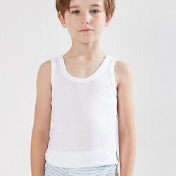 LOVIN BABY一王美台灣製素面男童短袖背心~6件