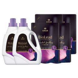 台塑生醫BioLead經典香氛洗衣精 花園精靈x2瓶+4包