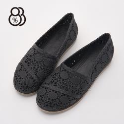 88% 夏日晴雨兩穿懶人出國旅行必備仿蕾絲簍空防水PVC沙灘鞋洞洞鞋雨鞋