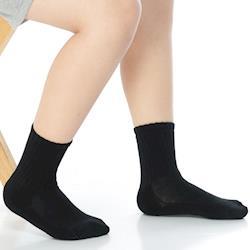 【KEROPPA】7~12歲學童專用毛巾底止滑短襪x3雙(男女適用)C93001