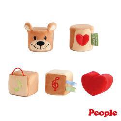日本People-Suzy's Zoo布玩具系列-五感立體布玩具