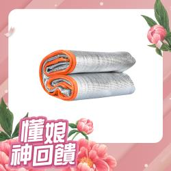 XINCHANG 橢圓鋁膜4-6人加大防潮墊 野餐墊