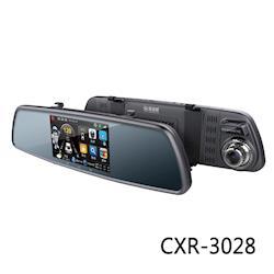 【凱騰】征服者 雷達眼 CXR-3028 後視鏡型前後雙錄行車安全警示器