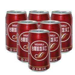 台糖 加鹽沙士2箱(350ml*48罐)