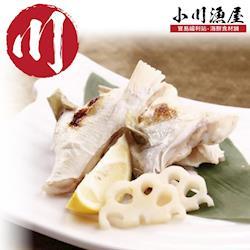 小川漁屋 現宰急凍特A級台灣鯛魚下巴4包(1000g±10%/包)