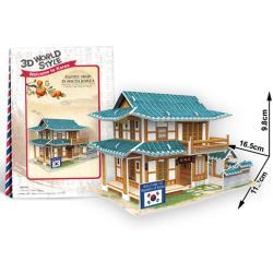 4D手作紙雕-韓國-糕點屋