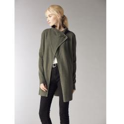 ST.MALO原裝進口100%羊駝新時尚針織大衣