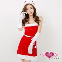 天使霓裳 聖誕服 歡樂聖誕派對 經典俏皮耶誕洋裝(紅F) S8509