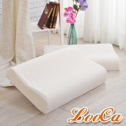 LooCa 特大型-頂級HT工學型乳膠枕(2入)