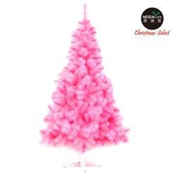 【摩達客】台灣製10尺/10呎(300cm)特級粉紅色松針葉聖誕樹裸樹 (不含飾品)(不含燈)