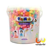 【 Playmais 】玩玉米創意黏土 粉彩超值桶