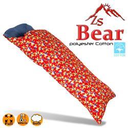 ZS Bear 兒童保溫纖維棉睡袋