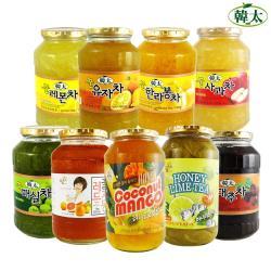 韓太 韓國黃金蜂蜜茶系列1kg(口味任選)
