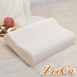 LooCa 護頸人體工學乳膠枕(1入)