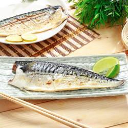 【王家】挪威薄鹽鯖魚片(180g /片)*10片