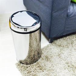 【HR安室家】不鏽鋼智能感應式垃圾桶-12L-PBL89