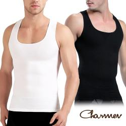 Charmen 升級加強版背心 男性塑身衣 (兩色任選)