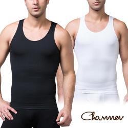 Charmen coolmax涼感排汗快乾背心 男性塑身衣(兩色任選)
