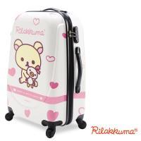 【Rilakkuma拉拉熊】夢幻樂園 24吋PC超輕量硬殼行李箱(粉)