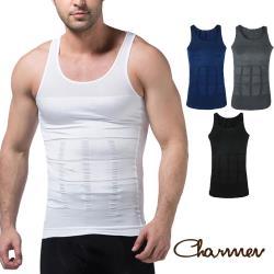 Charmen 坦克加壓版背心 男性塑身衣(多色可選)