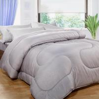 床之戀 台灣製竹炭纖6x7尺雙人加大暖暖被(180x210cm)