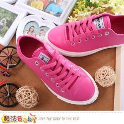 魔法Baby 女鞋 仿帆布鞋輕量膠鞋~sd6041